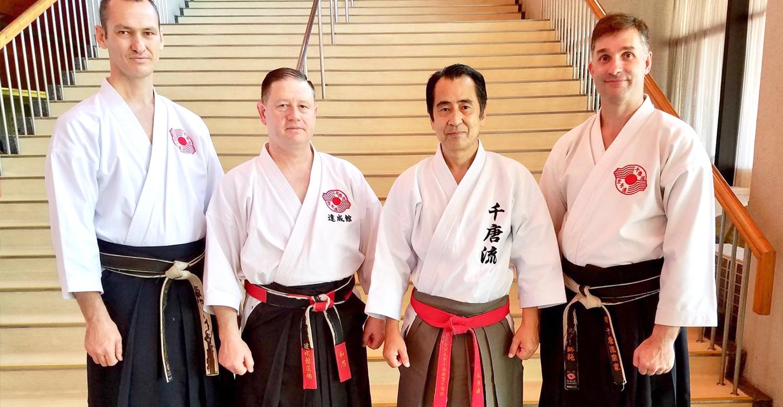 Tsuyoshi Chitose Soke, Mike Noonan, Chito-Ryu Karate